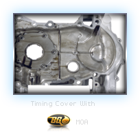 Timing Cover Treated