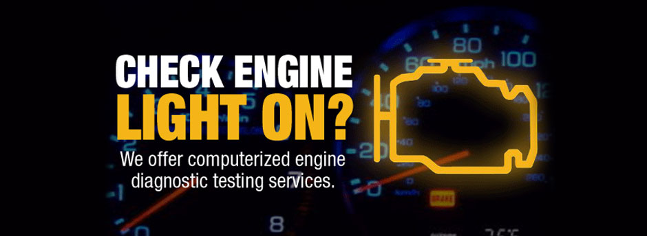Check Engine Light At Certified Auto Repair Specialist In